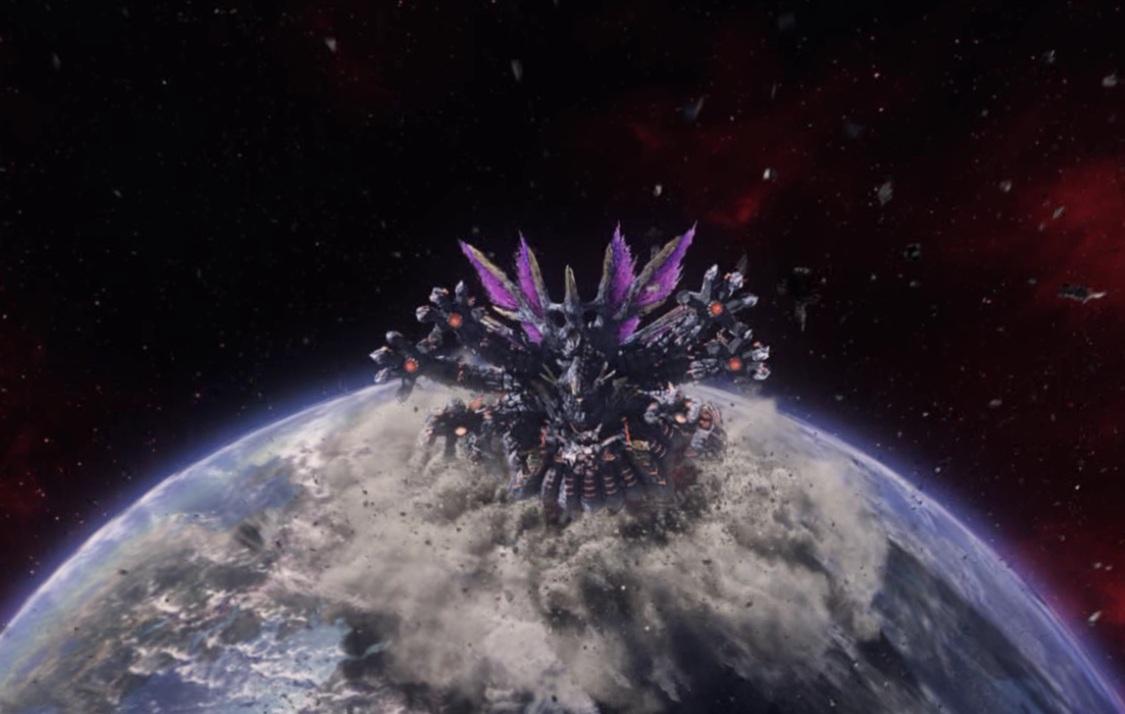 Dark Falz Phantasy Star Universe