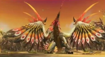 This giant feathered beast is clearly using Vol Dragon's skeleton.